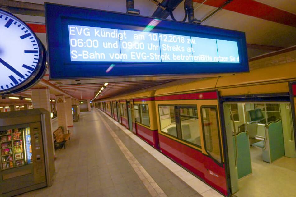 Warnstreik der Deutschen Bahn führt zu Mega-Chaos in Berlin!