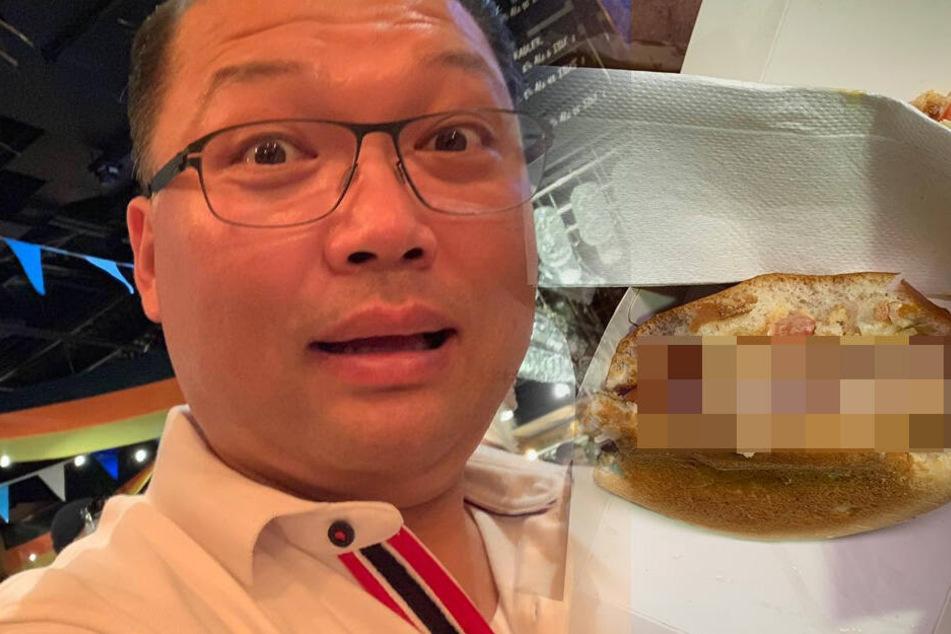 """Absoluter Schock"": Vater kann nicht glauben, was er da in seinem McDonald's-Burger entdeckt"