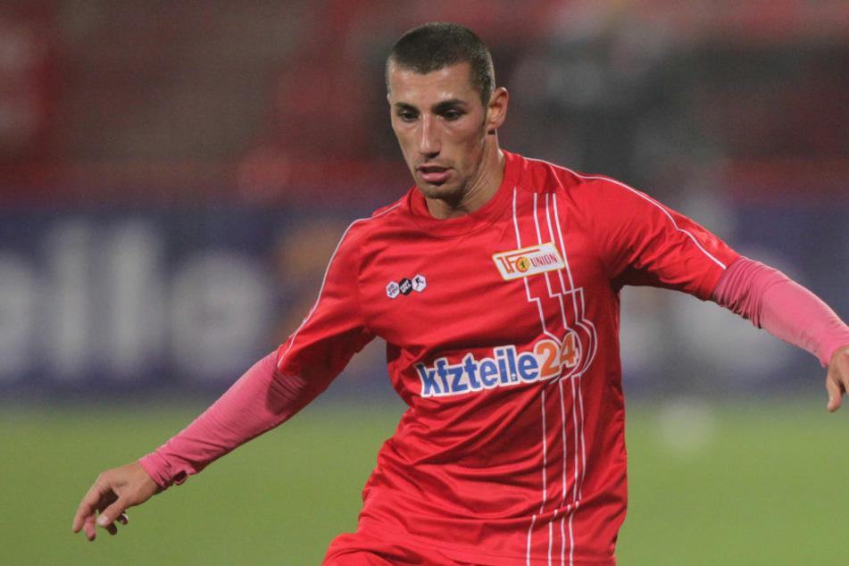 2010 trug Karim Benyamina (38) noch das Trikot des 1. FC Union Berlin, seit dem Beginn der Saison geht der Stürmer für die Ü32-Mannschaft von Hertha BSC auf Torjagd. (Archivfoto)