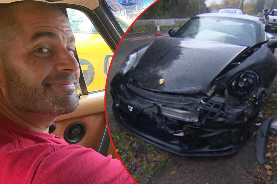 Moderator schrottet Porsche während Dreharbeiten für Auto-Sendung