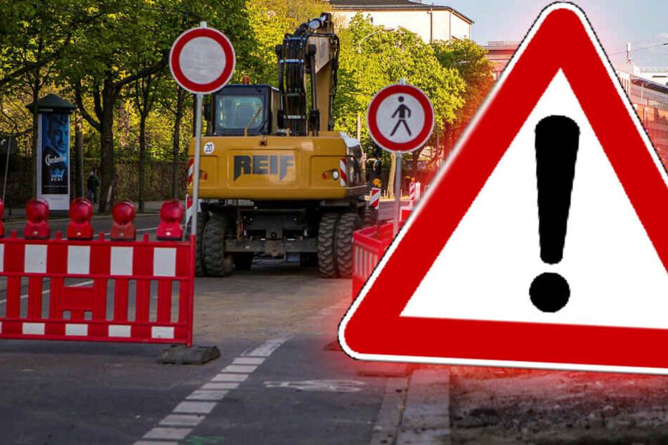 Achtung, Autofahrer! Wochenlange Baustelle sorgt ab heute für Behinderungen