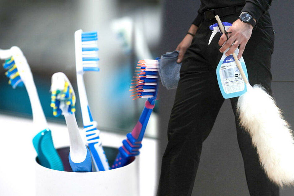 Lasst die Zahnbürste im Hotelzimmer lieber nicht unbeaufsichtigt. Das Hotelpersonal könnte sie für die Reinigung zweckentfremden.