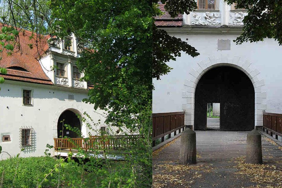 Das Torhaus Dölitz muss mit Gas von Holzschädlingen befreit werden.