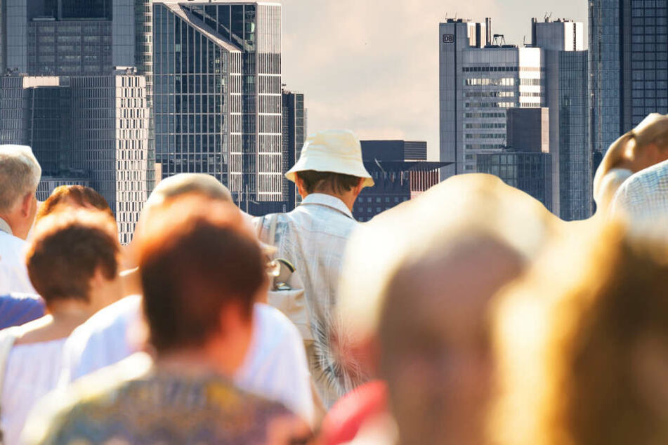Den höchsten Bevölkerungszuwachs registrierte Frankfurt am Main (Symbolbild).