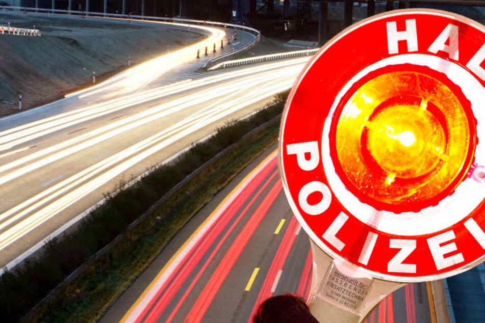 Auf der A6 kontrollierte die Polizei am Donnerstag mehr als 4000 Fahrzeuge.