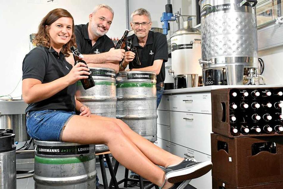 Da wäre man gern Student: Dresdner Uni-Professoren brauen ihr eigenes Bier