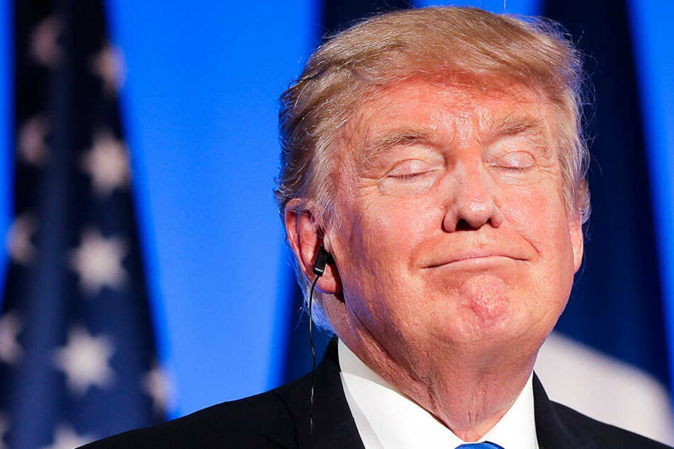 Inbegriff von Fremdscham? Trump kommentiert Figur von Macrons Frau