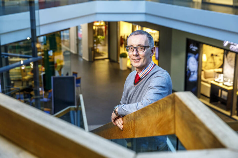 Jürgen Brunke (54) ist seit Monatsanfang neuer Center-Manager im QF.