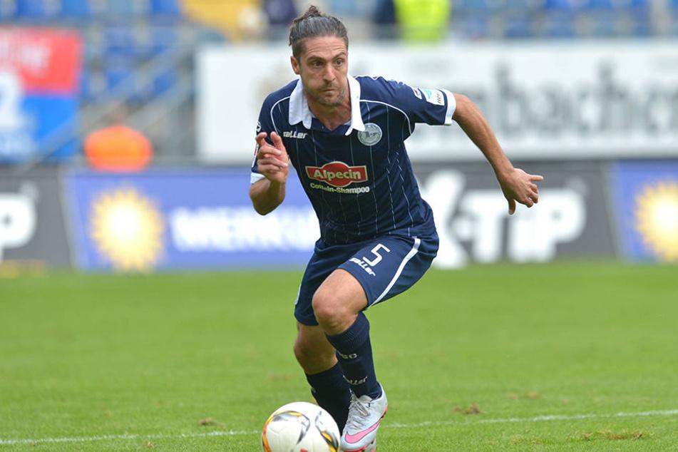 David Ulm spielte gegen Schalke 04 II wieder mit. Zuvor war er lange wegen einer Lungenentzündung ausgefallen.