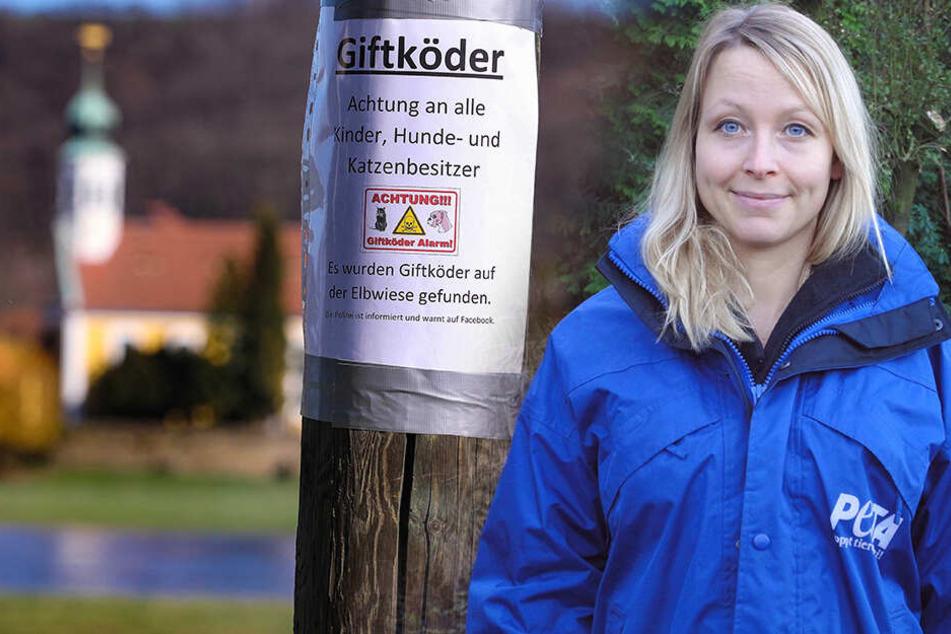Giftköder am Elbufer: PETA zahlt 1000 Euro für Hinweise auf Tierquäler