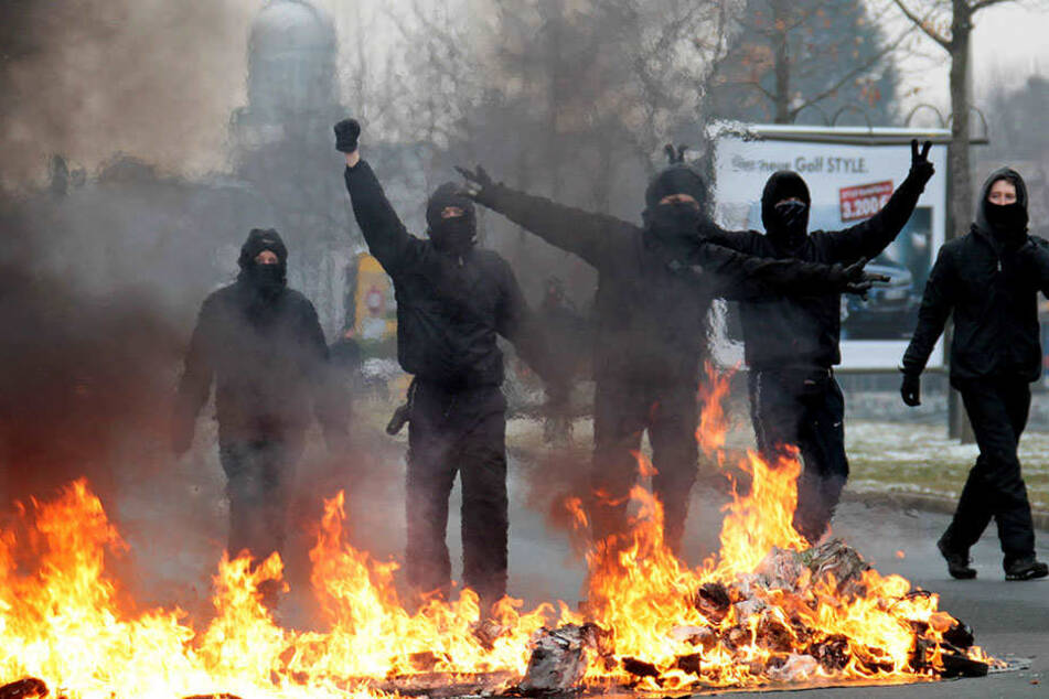 In Berlin sind wieder verstärkt Linksextremisten und Linksautonome aktiv.