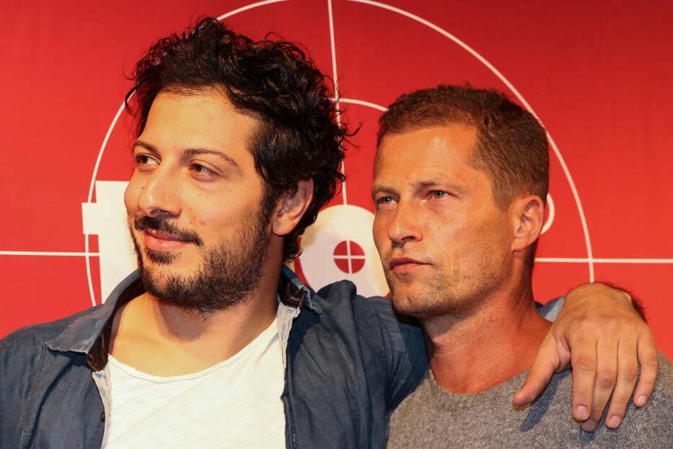 Die Schauspieler Fahri Yardim (links) und Til Schweiger sind das Ermittlerduo aus Hamburg. (Archivbild)