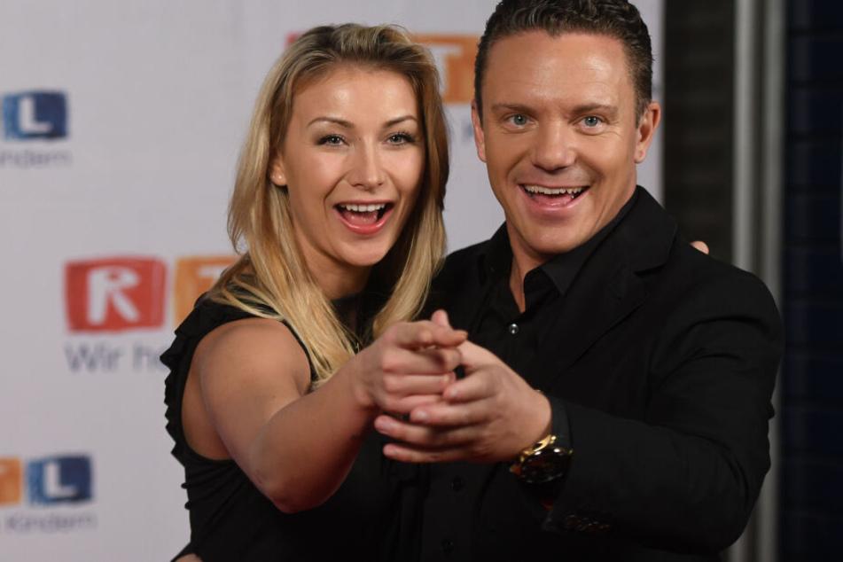 Die Sängerin Anna-Carina Woitschack (26) und Trompeter Stefan Mross (43) tun sich gegenseitig gut.