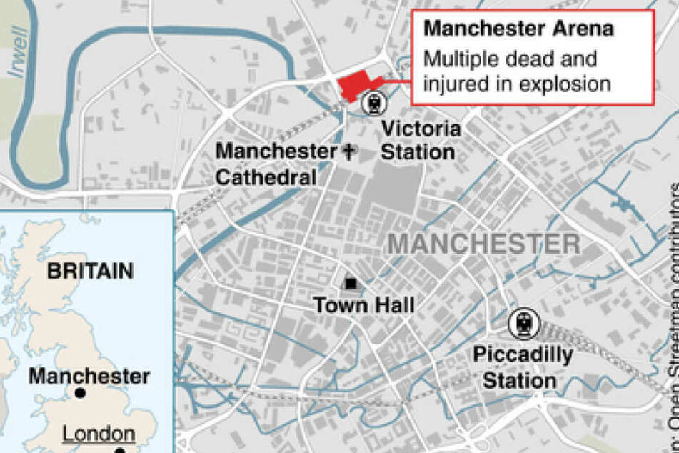Eine Karte zeigt den genauen Anschlagsort.