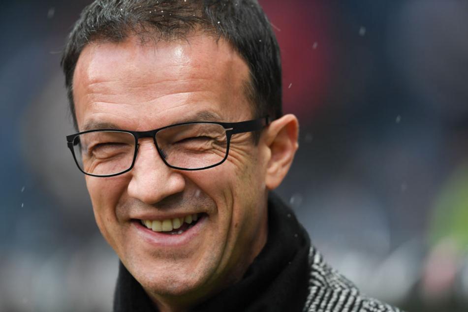 Fredi Bobic war mit der zweiten Halbzeit gegen Mainz nicht vollends zufrieden.