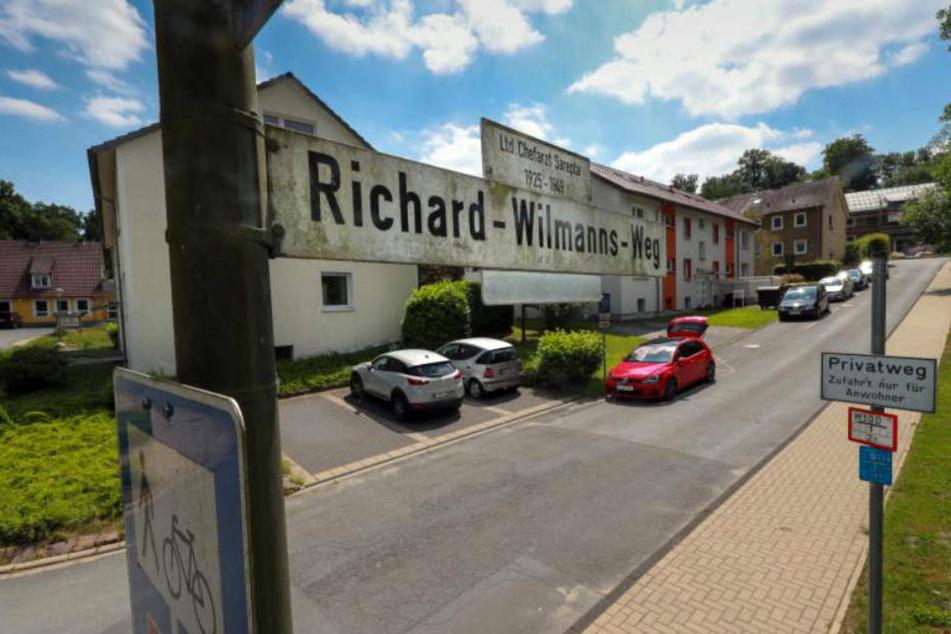 """Die Grünen fordern, dass der """"Richard-Wilmanns-Weg"""" umbenannt wird."""
