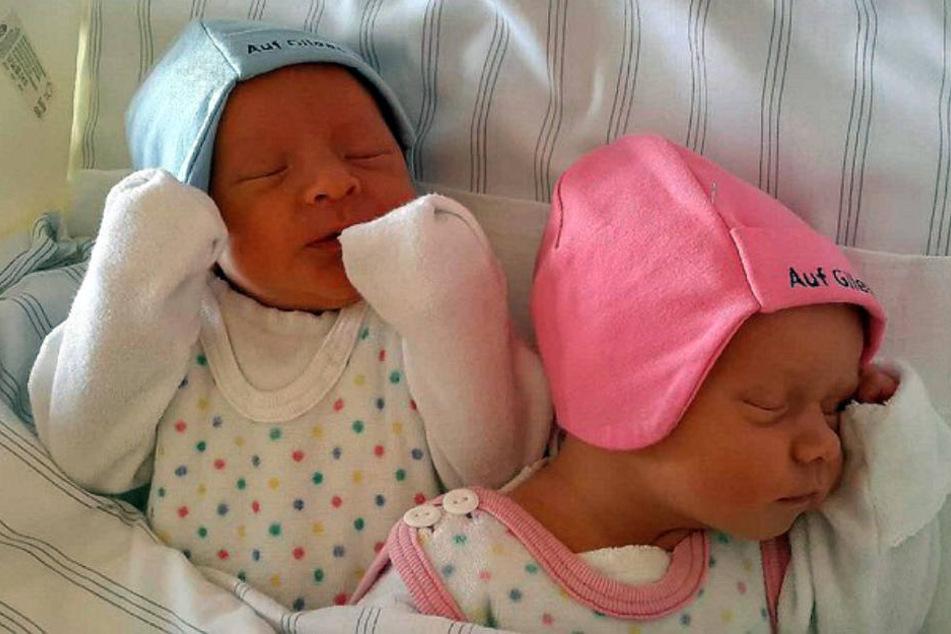 Niklas und Elissa sind ganz besondere Zwillinge.