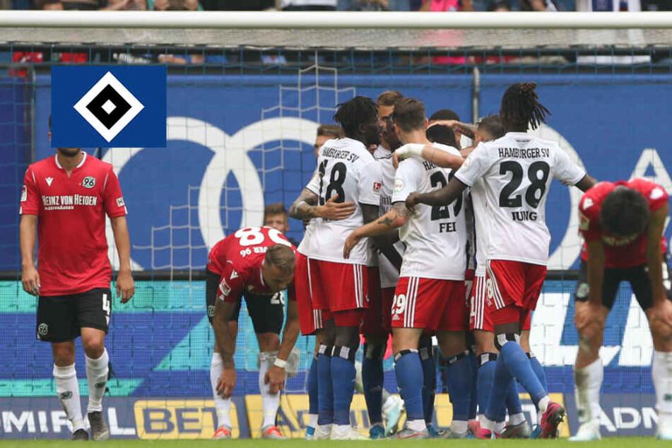 Ausgerechnet Jatta! HSV macht auch dank Bakery gegen Hannover 96 alles klar
