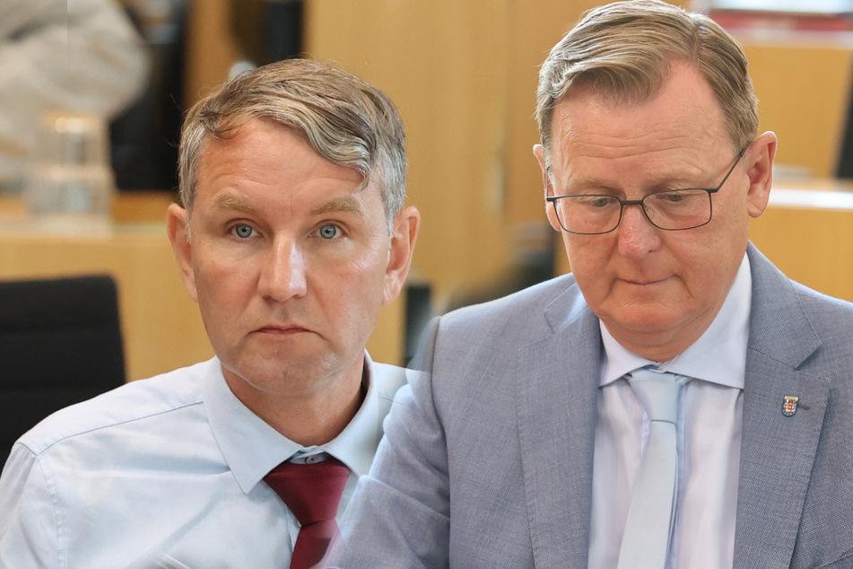 Thüringer AfD scheitert mit Misstrauensvotum gegen Ministerpräsident Bodo Ramelow