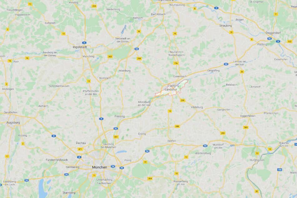 Das tote Mädchen wurde in einer Wohnung in Landshut in Niederbayern gefunden.