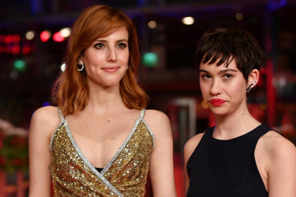 Die Hauptdarsteller Natalia de Molina und Greta Fernandez bei der Berlinale.