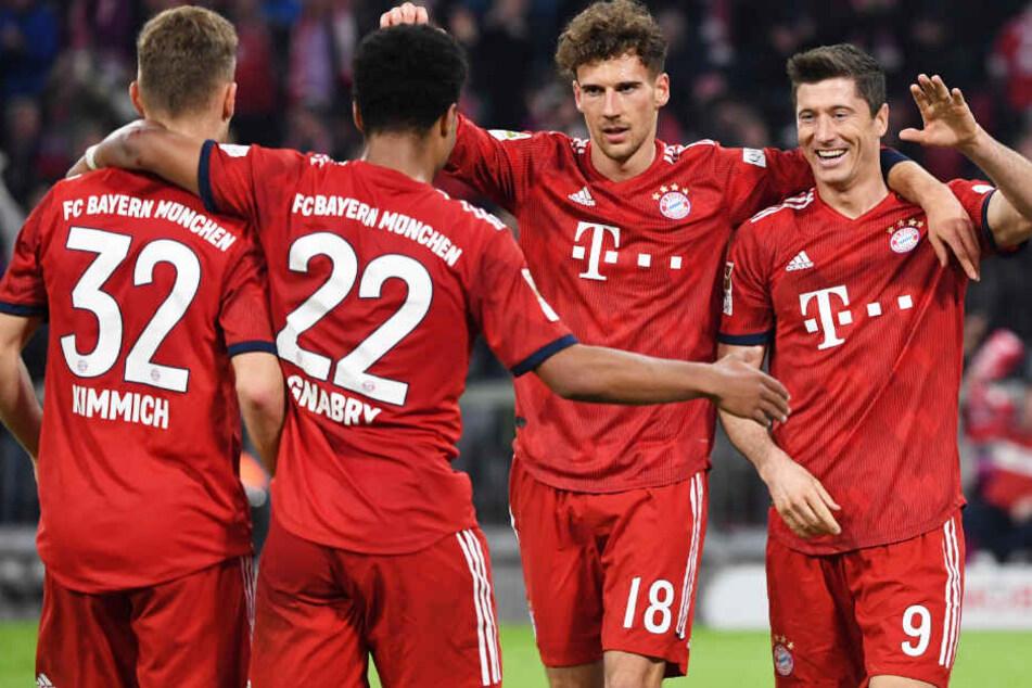 Der FC Bayern will einmal mehr die Meisterschale in den Süden Deutschlands holen.