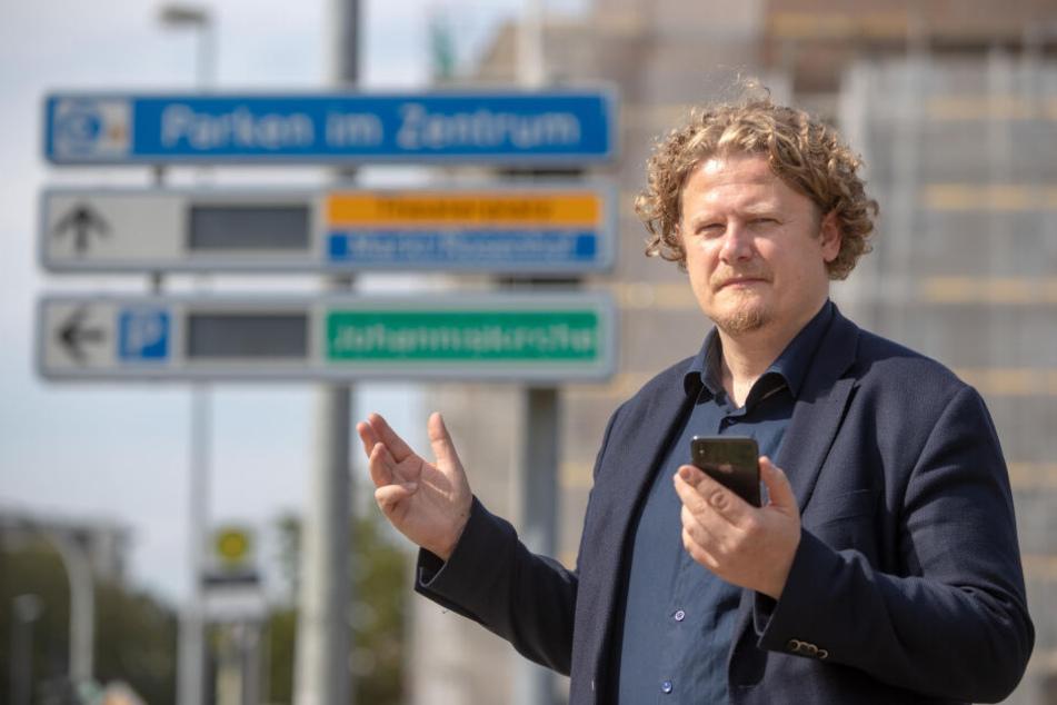 Lars Fassmann (41) wirft der Stadt eine schwache Bewerbung vor.