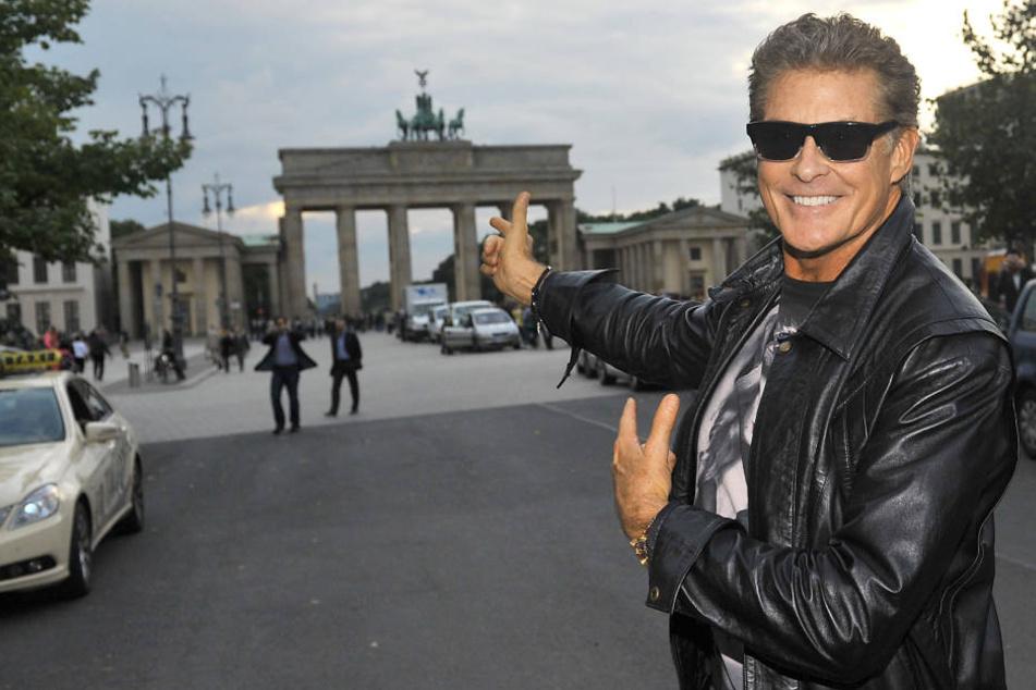 David Hasselhoff ist Kult! - und er kommt im April nach Thüringen.