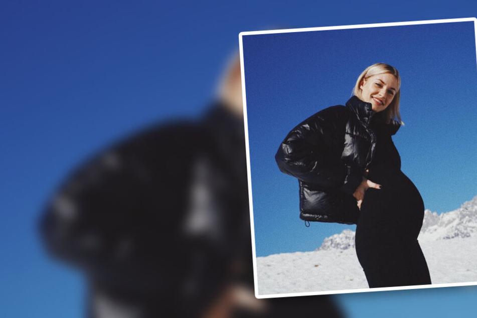 Lena Gercke ist schwanger! Model lässt mit Bild Bombe platzen