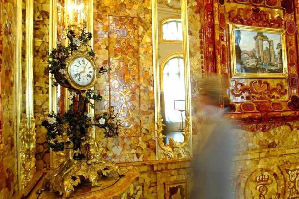 Der Glanz des verschollenen Bernsteinzimmers zieht Schatzsucher an