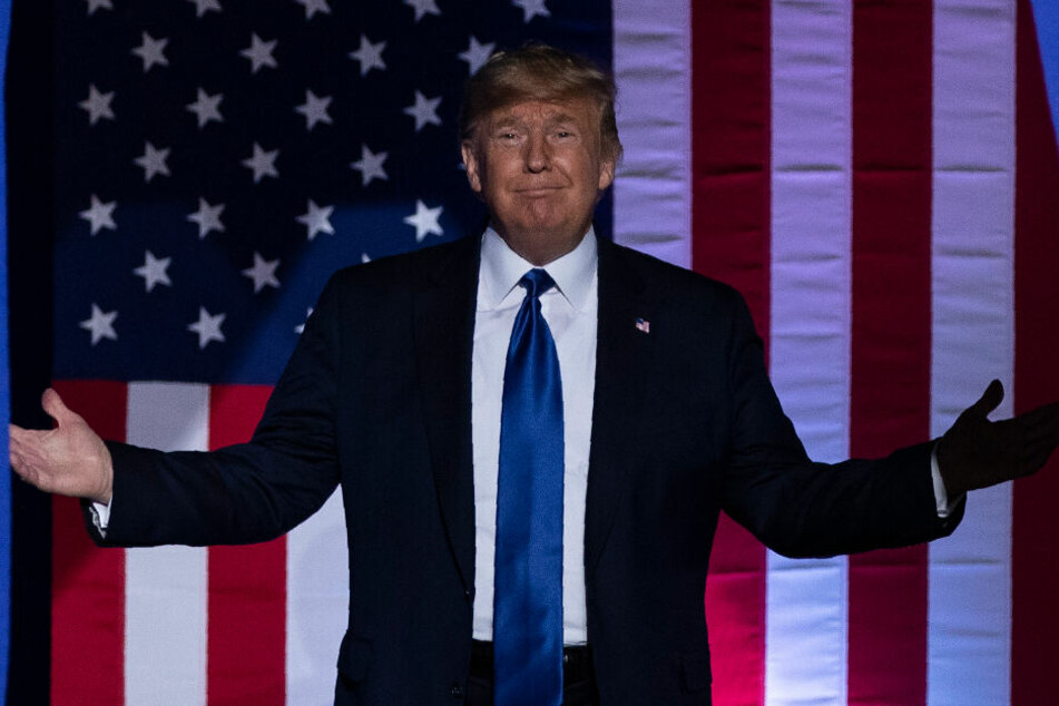 Donald Trump tut, als ob er kein Wässerchen trüben könnte.