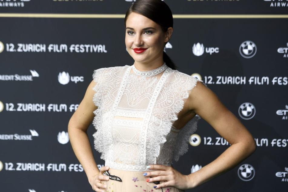 Für Shailene Woodley wurden die Dreharbeiten für ihren neuen Film zur körperlichen Strapaze.