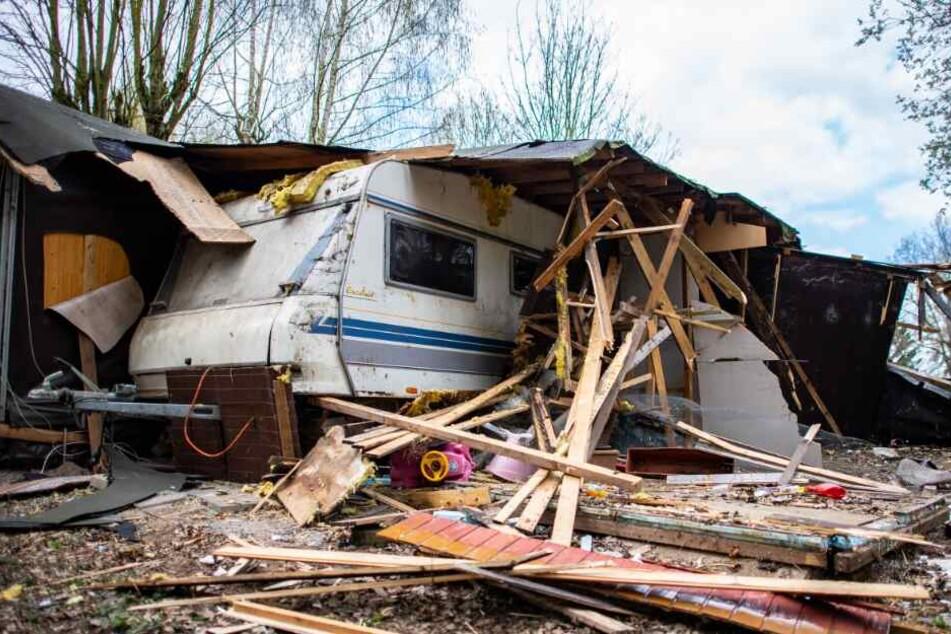 Der Campingplatzbetreiber ließ den Tatort abreißen, an dem die Kinder missbraucht wurden.