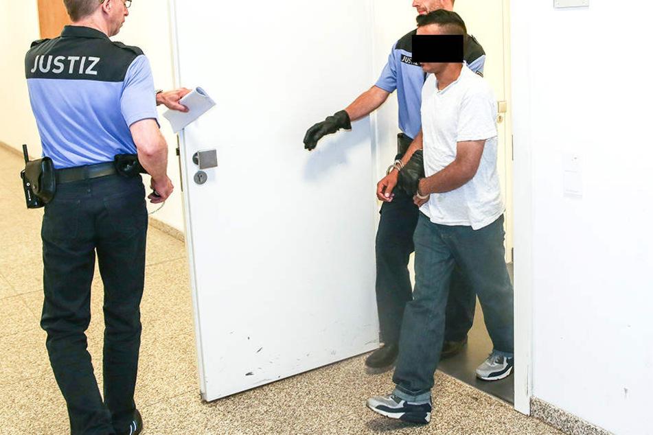 Der Angeklagte Shabaz H. (28) erhielt etwas überraschend einen Freispruch.