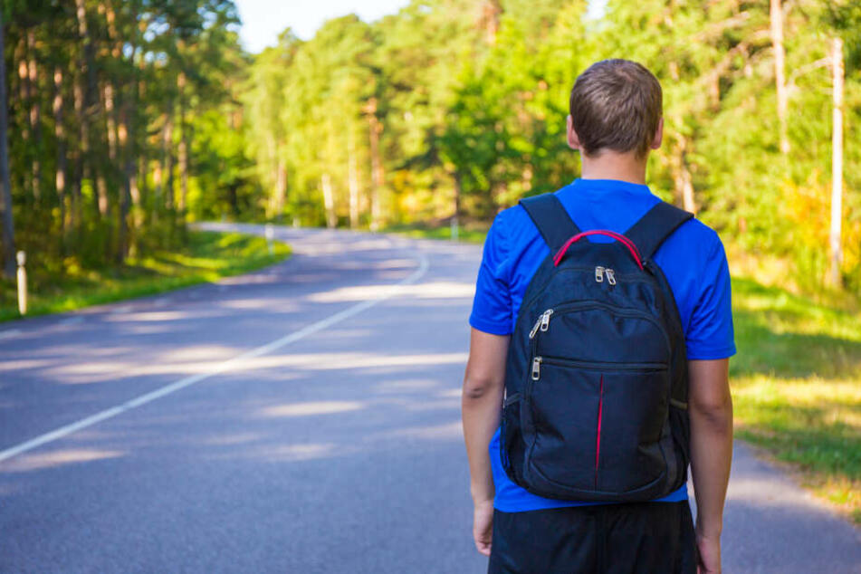 Wie im Krimi: Drei Schüler folgen einer Blutspur Richtung Wald, dann werden sie zu Lebensrettern