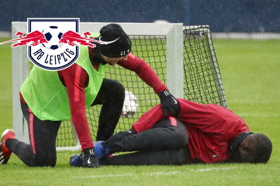 Trainingsschock! RB Leipzigs Abwehr-Bulle Upamecano verletzt