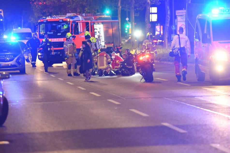 17-Jährige stürzt vom Motorrad und verletzt sich schwer