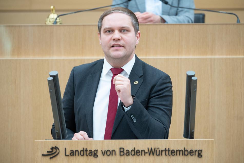 AfD-Mann Anton Baron (33).