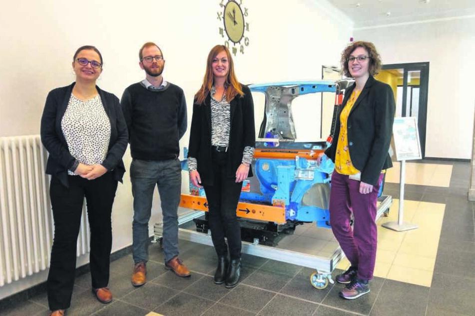 """Projekt """"LightSax"""": Studenten erforschen Leichtbau von morgen"""