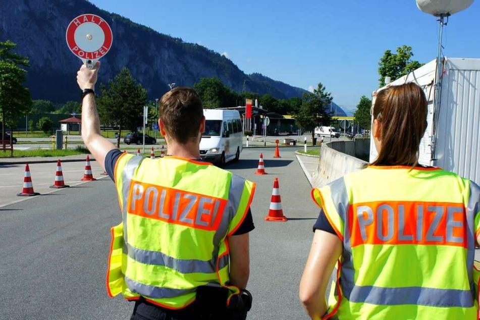 An der deutsch-österreichischen Grenze werden die meisten Schleuser festgenommen.