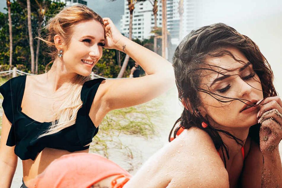Trotz prickelnder Küsse: Zwei Bachelor-Ladys mussten die Koffer packen