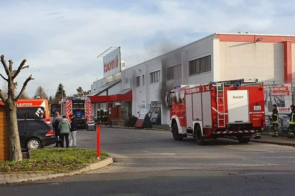 Die Feuerwehr wurde am Sonntagnachmittag nach Engelsdorf alarmiert.