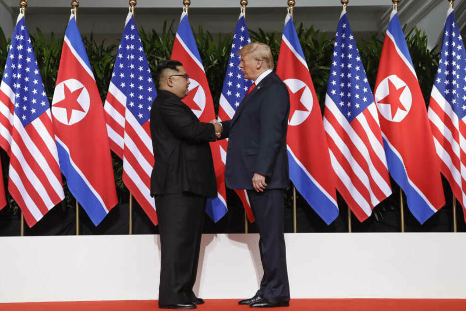 USA heben Sanktionen gegen Nordkorea trotz Treffen nicht auf