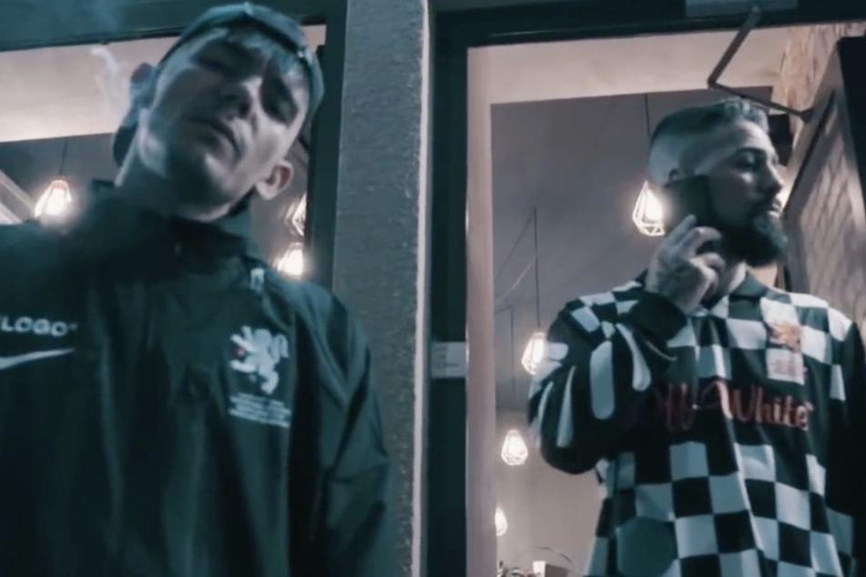 Ist das, dass neue unschlagbare Rap-Duo Deutschlands? Capital Bra (l) und Bushido.
