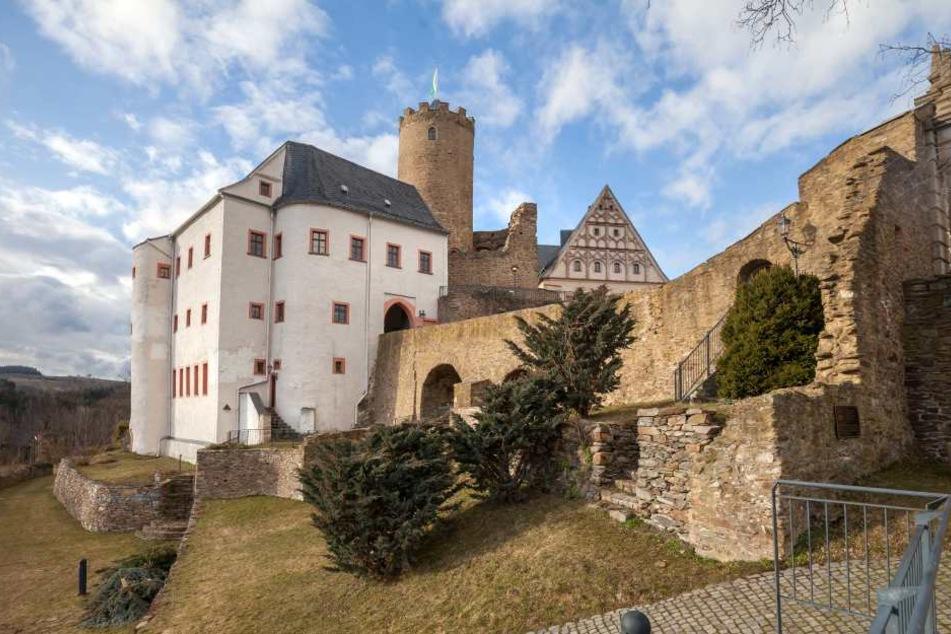 Rund 55.000 Besucher kommen im Jahr auf Burg Scharfenstein im  Erzgebirgskreis.