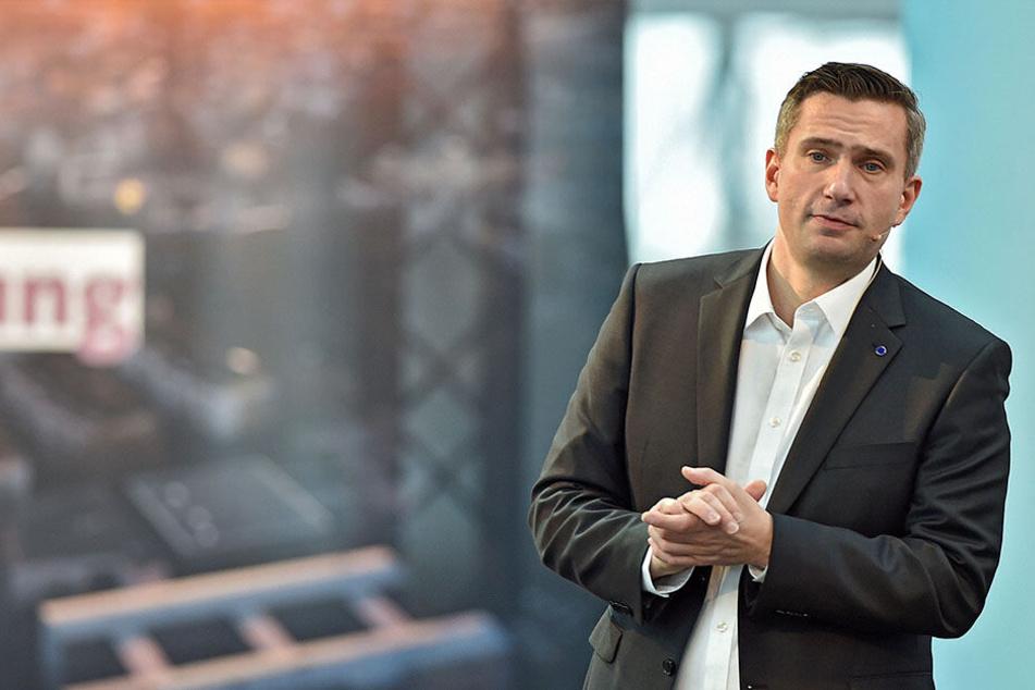 Martin Dulig (44) bleibt Spitzenkandidat der sächsischen SPD.
