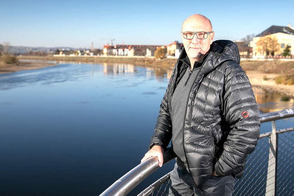 Wünscht sich eine Seilbahn für Dresden: CDU-Stadtrat Veit Böhm (53).