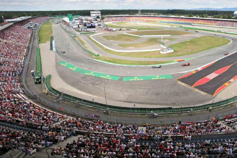 Vielleicht bald Geschichte: Formel-1-Flitzer auf dem Hockenheimring. (Archivbild)