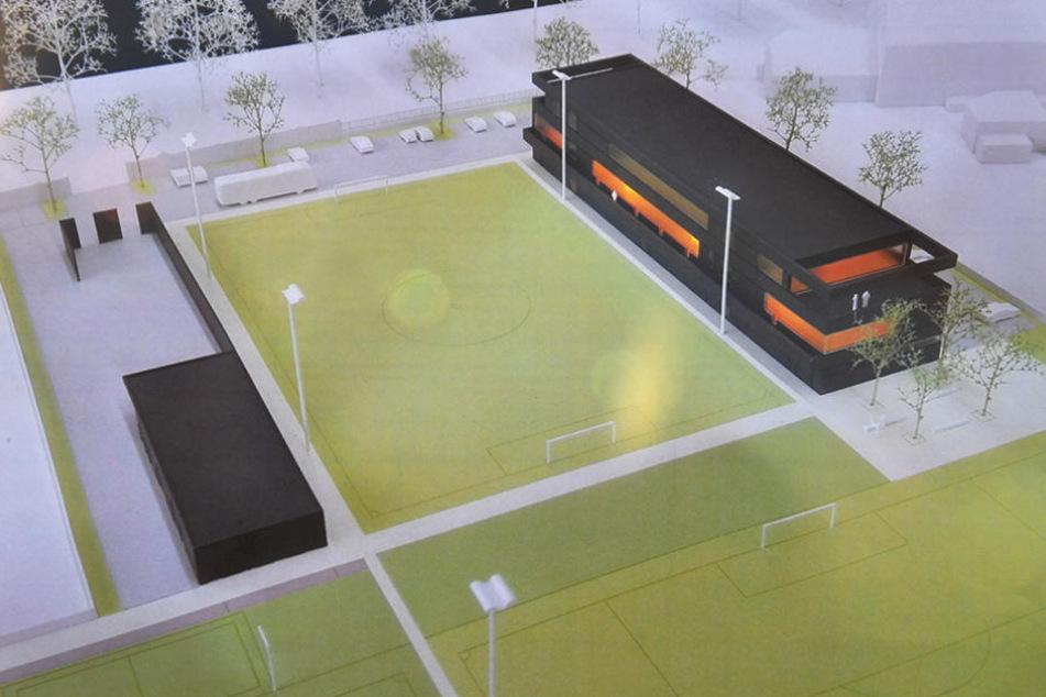 Und so soll das Trainingszentrum eines Tages aussehen.