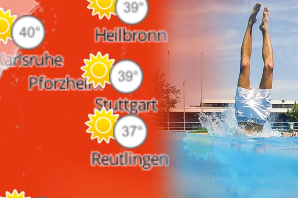 Rekordverdächtige Temperaturen! So heiß wird es am Donnerstag im Ländle
